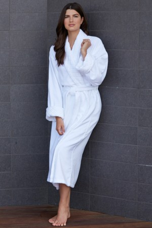 KayAnna Elegant Terry Velour Robe