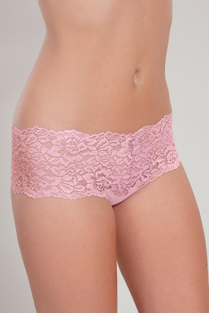 "Knock Out Lacy Thong with ""Something Extra"""