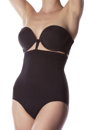 KnowMe Seamless High Waist 3-Strap Brief