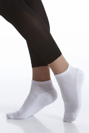 Kushyfoot Low Cut Athletic Sock 3-Pack