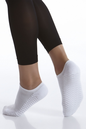 Kushyfoot No Show Athletic Sock 2-Pack