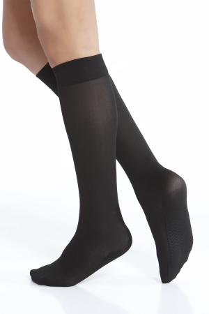 Kushyfoot Opaque Trouser Sock 2-Pack