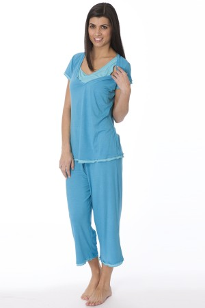 La Leche League T-Shirt Top PJ Set