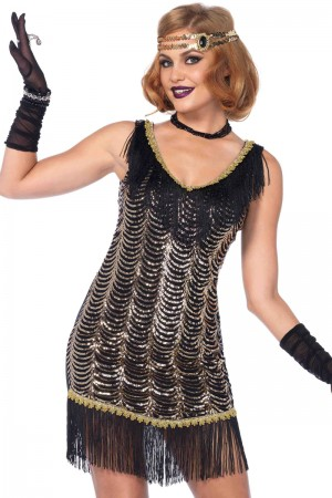 Leg Avenue 2-Piece Charleston Charmer Costume