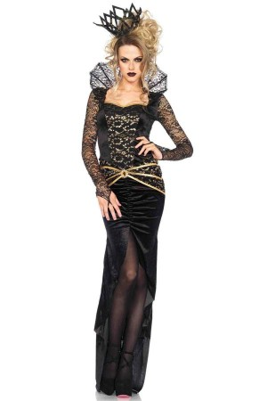 Leg Avenue 2-Piece Deluxe Evil Queen Costume