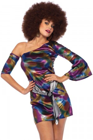 Leg Avenue 2-Piece Disco Doll Costume