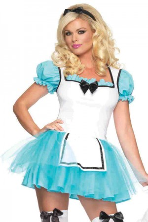 Leg Avenue 2-Piece Enchanted Alice Costume