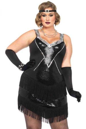 Leg Avenue 2-Piece Glamour Flapper Costume