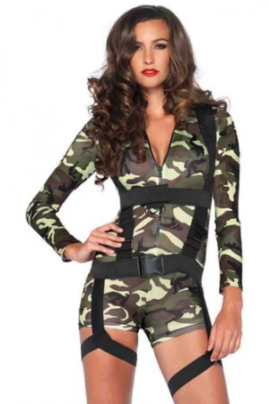 Leg Avenue 2-Piece Goin Commando Costume