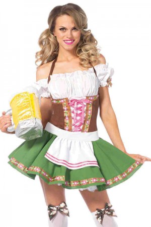 Leg Avenue 2-Piece Gretchen Costume