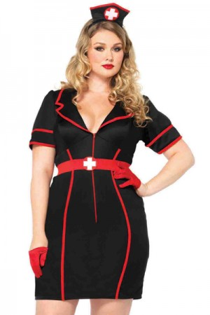 Leg Avenue 2-Piece Naughty Night Nurse Costume