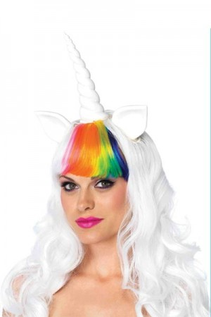 Leg Avenue 2-Piece Unicorn Wig