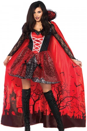 Leg Avenue 2-Piece Vampire Temptress Costume