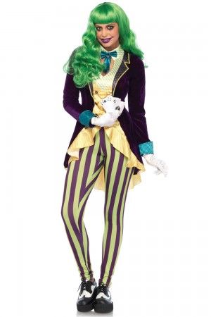Leg Avenue 2-Piece Wicked Trickster Costume
