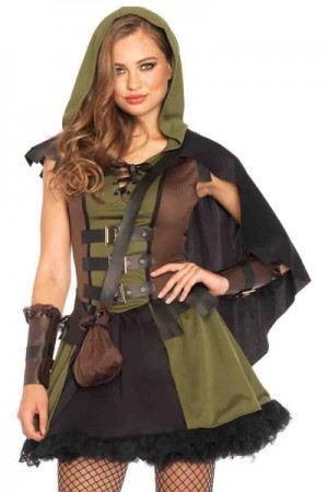 Leg Avenue 3-Piece Darling Robin Hood Costume