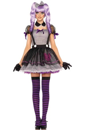 Leg Avenue 3-Piece Dead Eye Dolly Costume