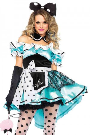 Leg Avenue 3-Piece Delightful Alice Costume