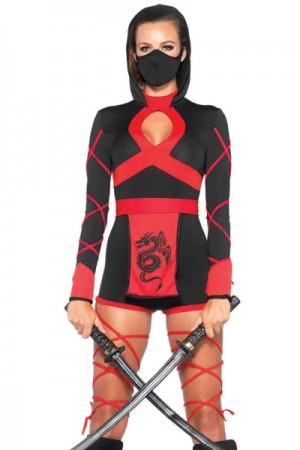 Leg Avenue 3-Piece Dragon Ninja Costume