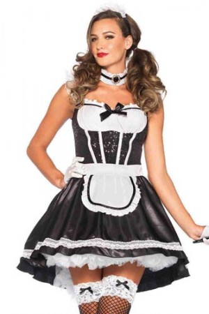 Leg Avenue 3-Piece Fiona Featherduster Costume