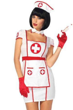 Leg Avenue 3-Piece Hospital Heartbreaker Costume