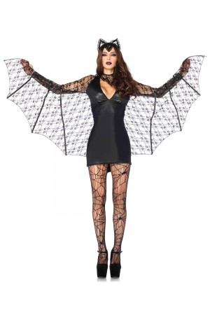Leg Avenue 3-Piece Moonlight Bat Costume