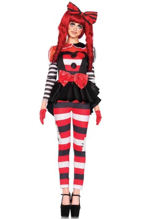 Leg Avenue 3-Piece Rag Doll Costume