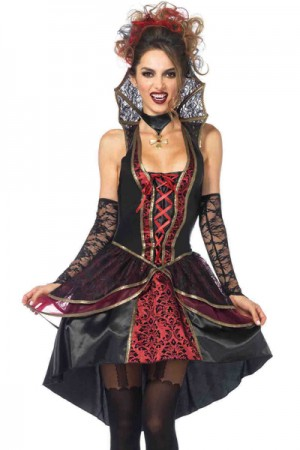 Leg Avenue 3-Piece Vampire Queen Costume