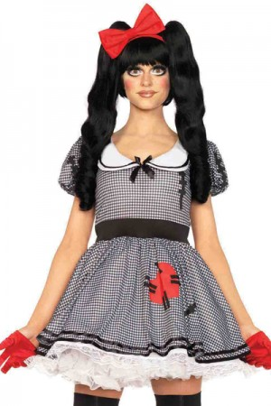 Leg Avenue 3-Piece Wind-Me-Up Dolly Costume