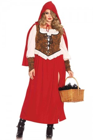 Leg Avenue 3-Piece Woodland Red Riding Hood Costume