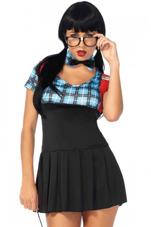 Leg Avenue 4-Piece Naughty Nerd Costume