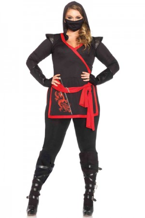 Leg Avenue 4-Piece Ninja Assassin Costume
