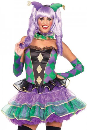 Leg Avenue 5-Piece Mardi Gras Sweetie Costume