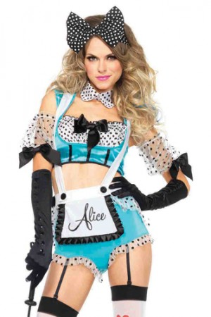 Leg Avenue 5-Piece Vixen Alice Costume