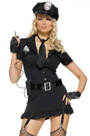 Leg Avenue 6-Piece Dirty Cop Costume