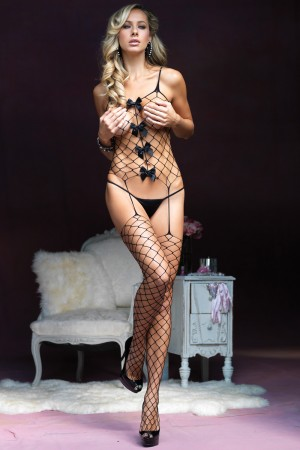 Leg Avenue Fence Net Suspender Bodystocking