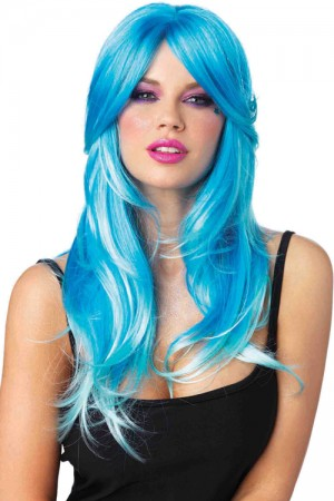 Leg Avenue Glow Two-Tone Long Wig