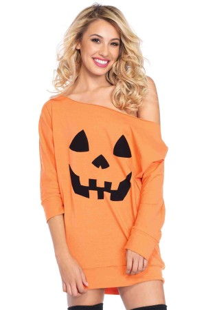 Leg Avenue Jersey Pumpkin Dress