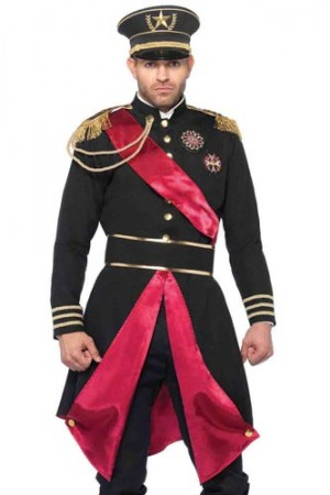 Leg Avenue Men's 2-Piece Military General Costume