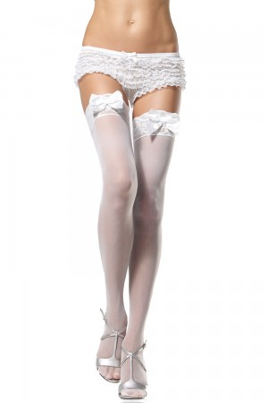 Leg Avenue Sheer Thigh Hi Lace Top