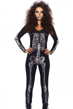 Leg Avenue Skeleton Catsuit