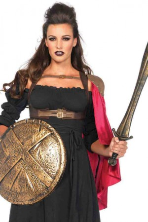 Leg Avenue Warrior One Shoulder Cape