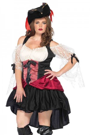 Leg Avenue Wicked Wench Costume