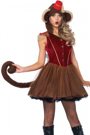 Leg Avenue Wind Up Monkey Dress Costume