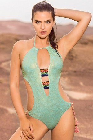 Leonisa Adjustable Bottom Monokini