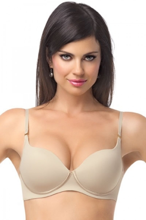 Leonisa Comfortable Wireless Push-Up Bra
