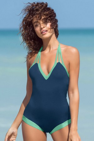 1233786cab Leonisa Cool Eco Friendly Slimming Swimsuit 190838 | Women's