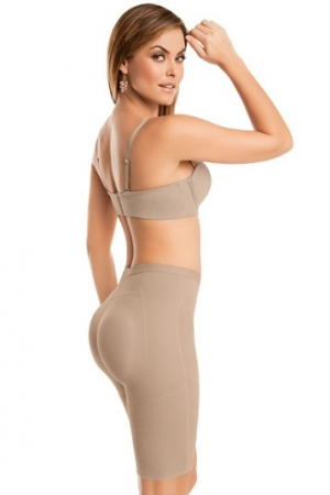 Leonisa Derriere Uplift High-Waisted Thigh Shaper in Neo-Latex