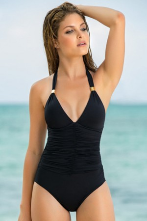 Leonisa Elegant Moderate Control One-Piece Swimsuit