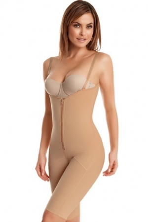 Leonisa Full Thigh Compression Body Shaper