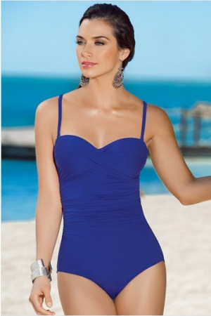 Leonisa Glamorous Strapless One Piece with Tummy Control